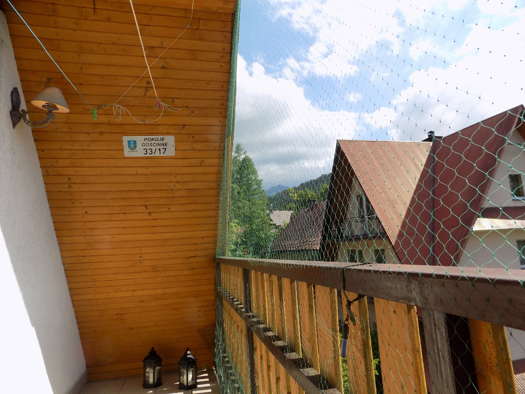 Apartament na Bystrym - balkon