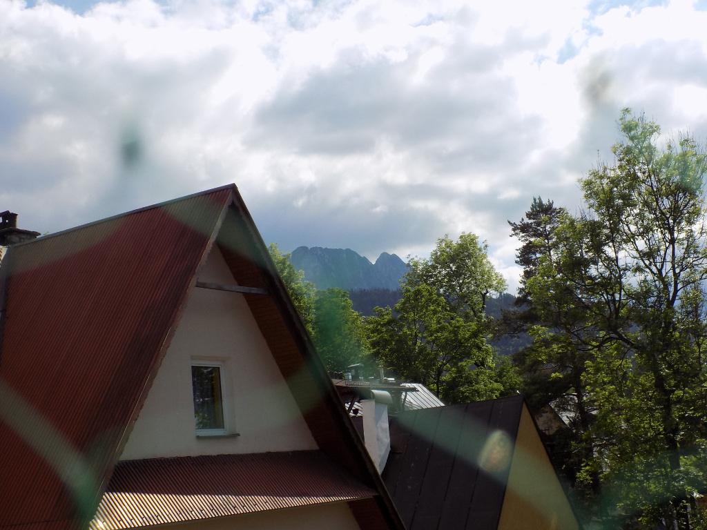 Apartament na Bystrym - widok z balkonu