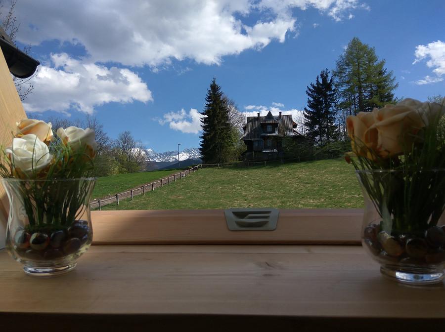 Apartament nr 4, Forster House Zakopane - widok z okna