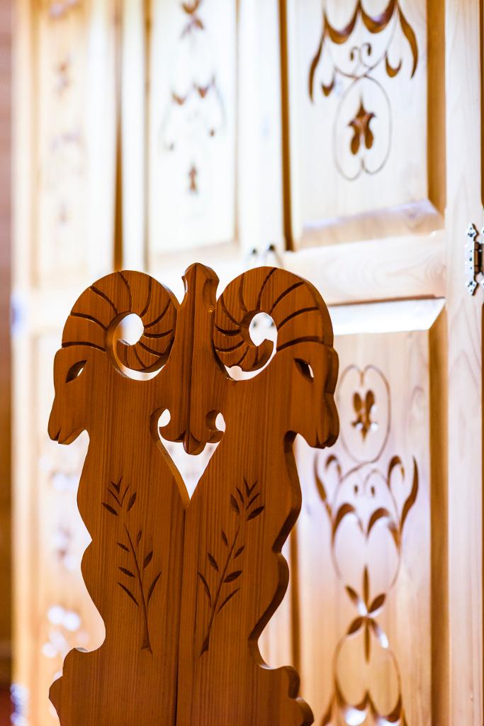 Forster House apartament nr 2 - artystyczne, regionalne wykończenie w drewnie